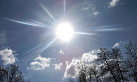 Naturschauspiel am Himmel