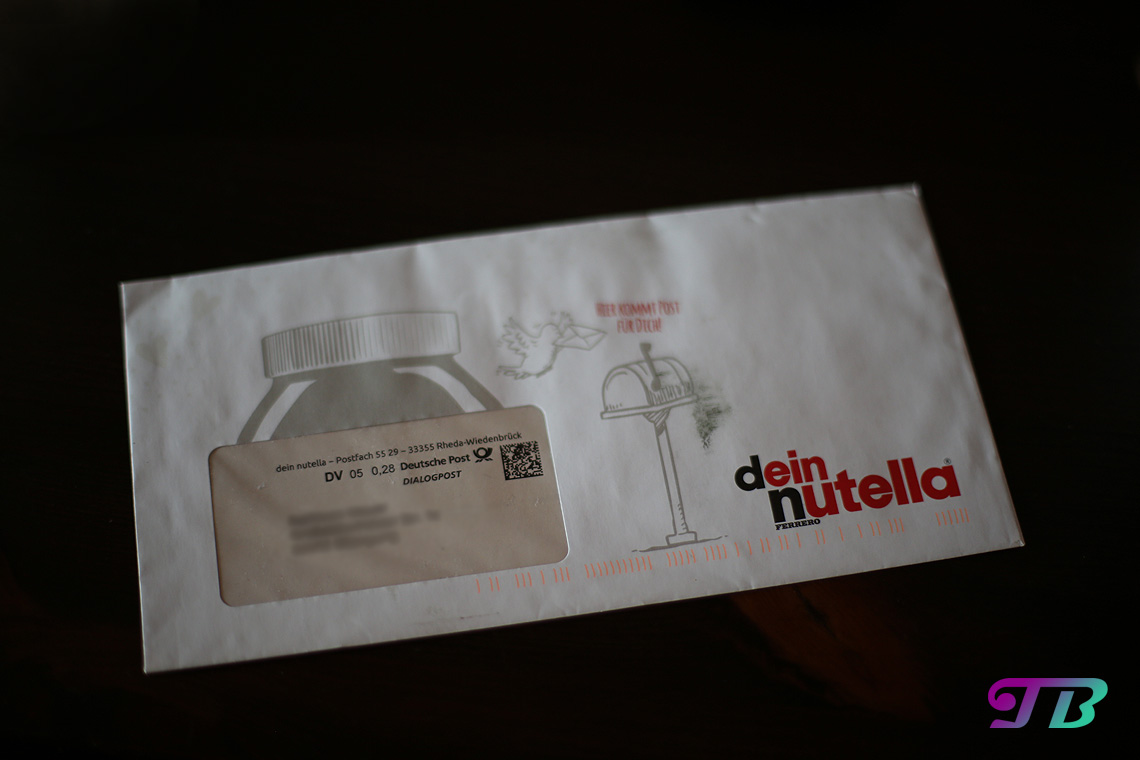 Personalisierte Nutella-Glas-Ideen