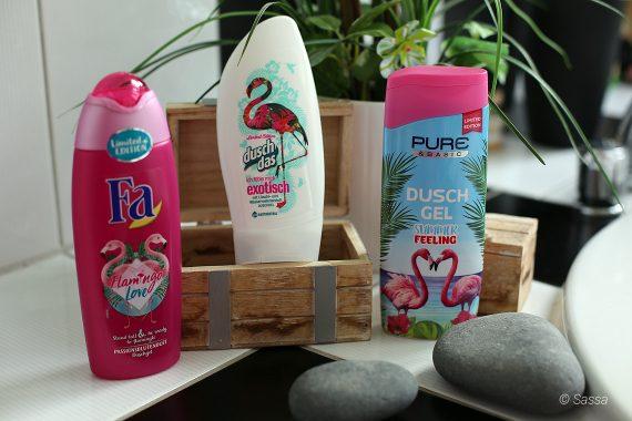 Flamingo-Duschbad von Fa, duschdas & PURE