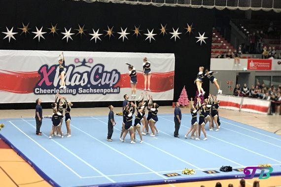 Cheerleading Xmas-Cup Sachsenpokal 2017 - Blue Pearls Dresden Monarchs e.V.