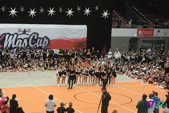 Xmas-Cup Sachsenpokal - Junior AllGirl Level 3 - 3. Platz: Dynamix Cheerleader Verein Dresden e.V.
