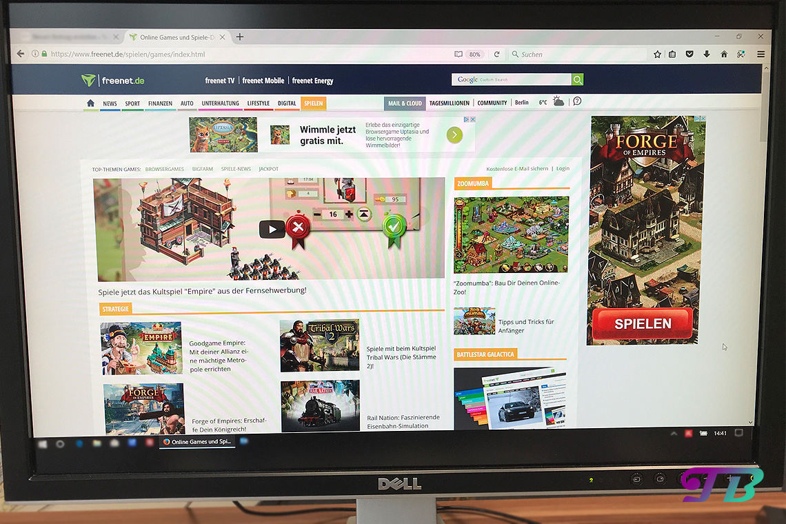 Freenet Gaming Spiele