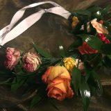 GLOW by dm Alverde Haarkranz aus Rosen