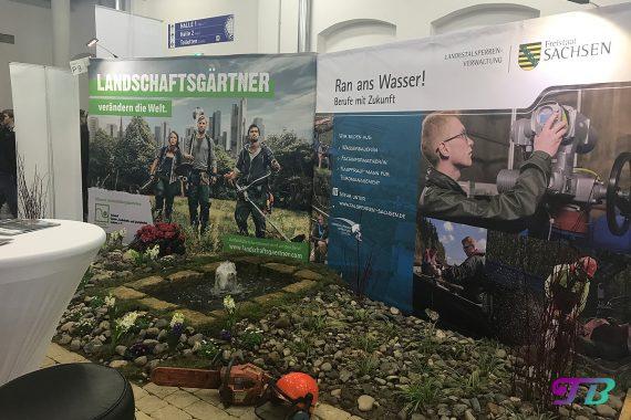 Karrierestart Messe Dresden Beruf Job Ausbildung Landschaftsgärtner