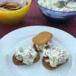 Aufstrich Tomaten Gurke Frischkäse Saltletts LaugenCracker