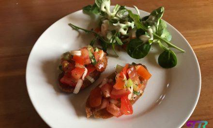 Bruschetta – Fingerfood einfach und schnell zubereitet