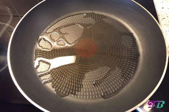 Kartoffelpuffer Rösti Pfanne Öl