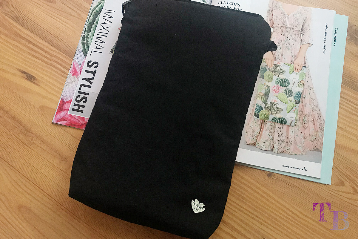 """<span class=""""sponsored_text""""> Sponsored Post</span> burda accessoires Magazin – Clutch als Vorlage für 3-in-1 Tasche"""