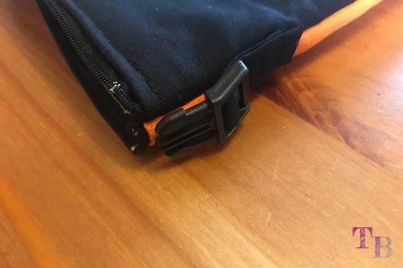 burda accessoires Magazin Clutch Klickverschluss Tasche befestigen
