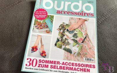 Sponsored Post burda accessoires Magazin – 30 DIY Ideen für den Sommer