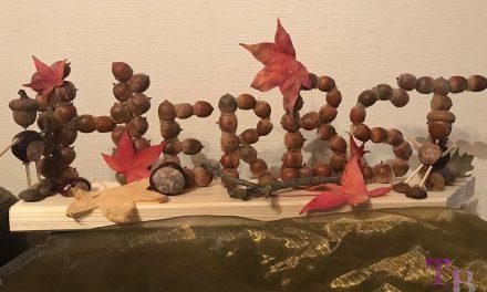 Herbst – Zeit zum Basteln mit Eicheln und Kastanien