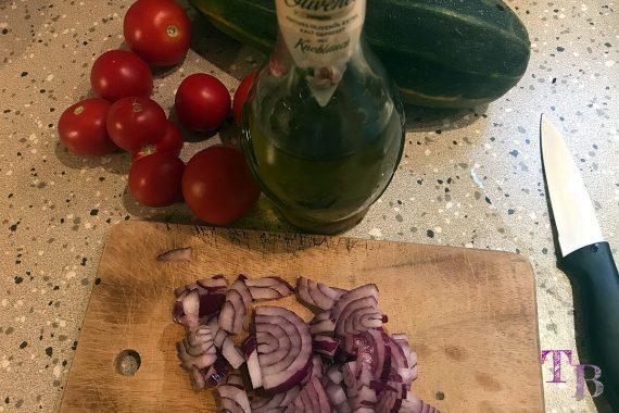Tomaten Zucchini Auflauf Zutaten