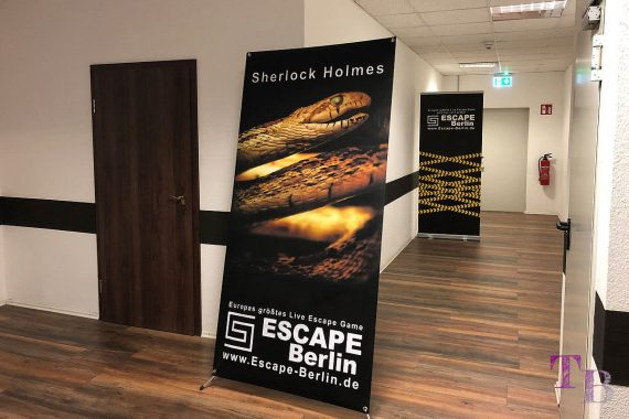 Escape Berlin Live Game Theater Sherlock Holmes