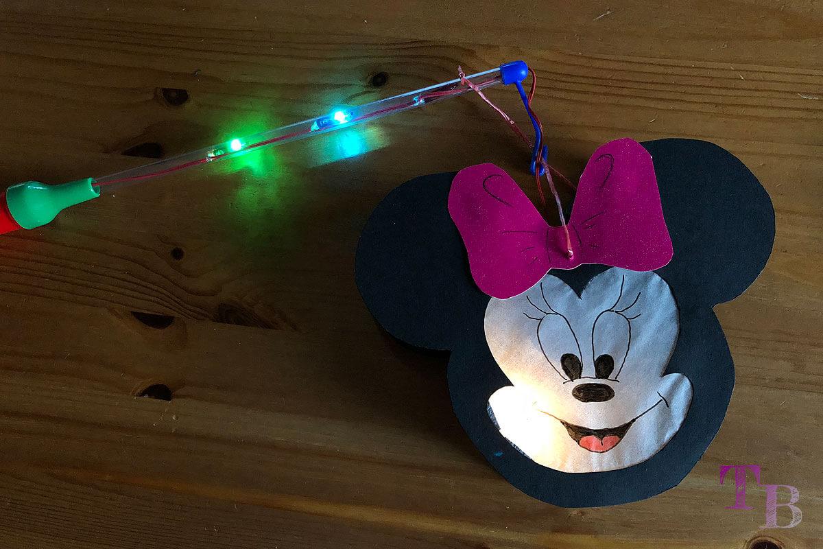 DIY Micky Maus Lampion anlässlich des 90. Geburtstags von Mickey Mouse