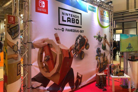 spielraum Messe Dresden Digitalwelt Nintendo Labo