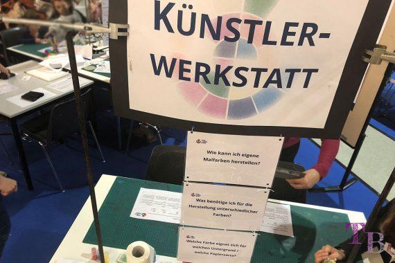 spielraum Messe Dresden Lernlabor Farbe TU Künstlerwerkstatt