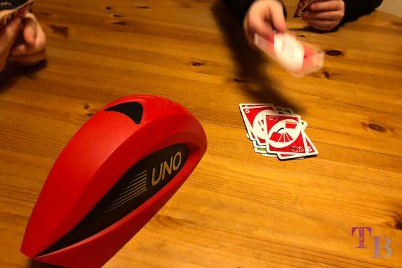 UNO Extreme Karten Spiel Karte Ablegestapel