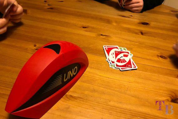 UNO Extreme Karten Spiel Ablegestapel