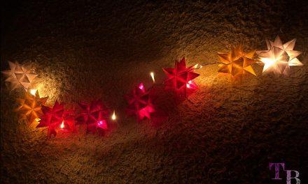 DIY Lichterkette mit Bascetta-Sternen