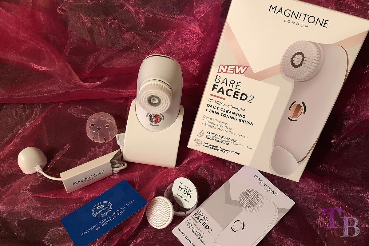 "<span class=""sponsored_text""> Sponsored Post</span> Gesichtsreinigungsbürste Magnitone BareFaced 2 im Test"