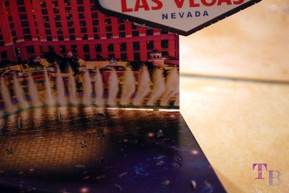 3D Puzzle Las Vegas Lidl Grundplatte Spalt