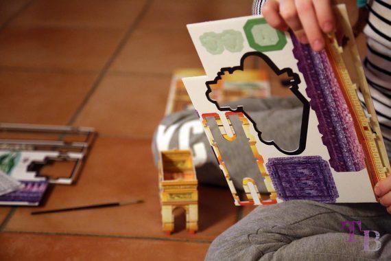 3D Puzzle Las Vegas Teile ausbrechen