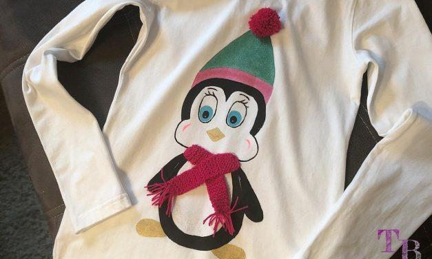 Süßes Pinguin-Langarm-Shirt selbst gestalten