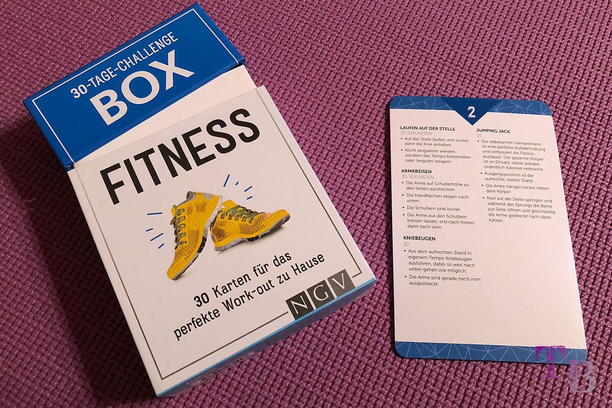 Fitness Challenge Box Übungen Lidl