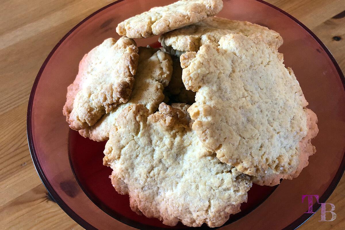 vegane Cookies Rezept fertig