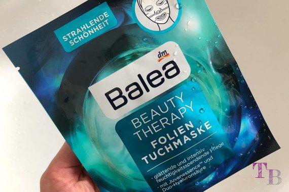 Balea Folien Tuchmaske Beauty Therapy
