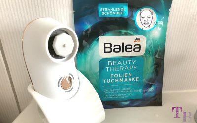 Balea Beauty Therapy Folien Tuchmaske für eine intensive Pflege