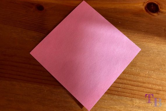 Blüten Papier Kusudama DIY Quadrat