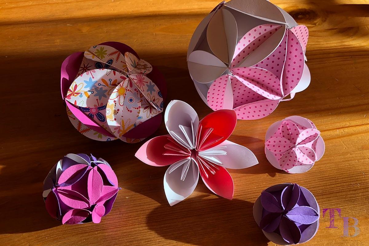 Blütenzauber mit Fancy Shapes selbst gebastelt – Frühling im Haus
