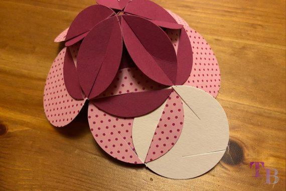 Fancy Shapes Blütenkugel Farbe 3 stecken