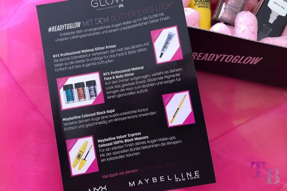 GLOW by dm Stuttgart #READYTOGLOW Box Glitter Look