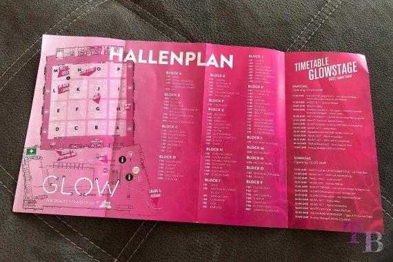 GLOW by dm Stuttgart Hallenplan GLOWstage
