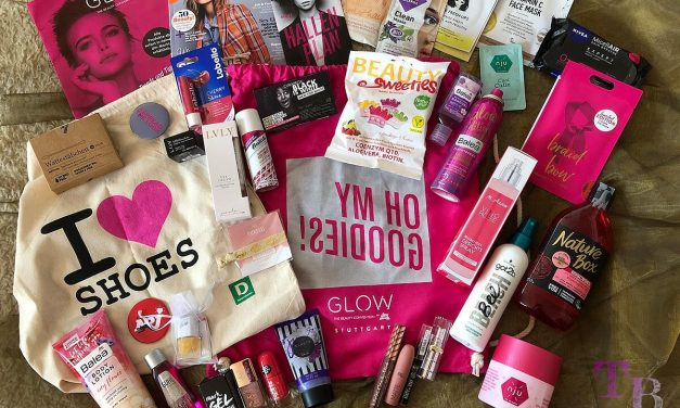 Unboxing GLOW Goodie Bag – GLOW by dm in der Messe Stuttgart