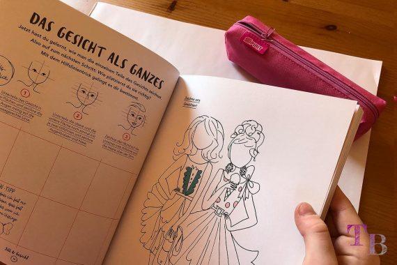 Jills Welt Zeichnen mit Jill Buch Einblick Mode