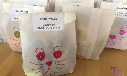 Keinohrhase Verpackung für Ostergeschenk – DIY, einfach und witzig