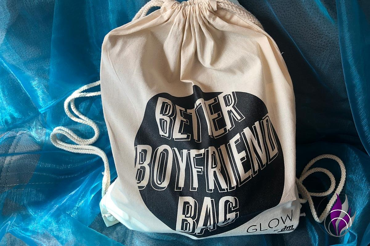 Better boyfriend Bag – Ein GLOW by dm Goodie Bag für die Boys