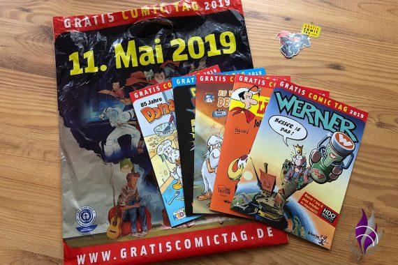 Gratis Comic Tag 2019 Auswahl
