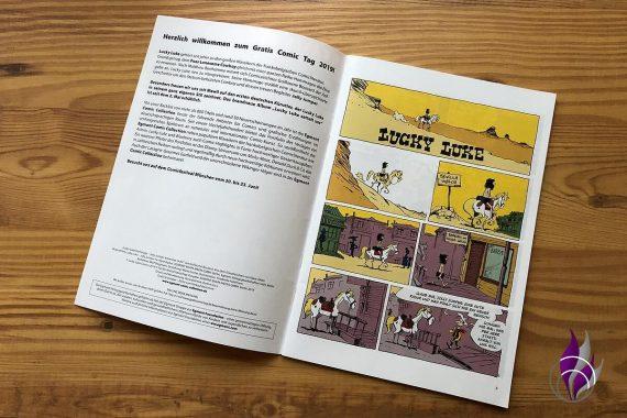 Gratis Comic Tag 2019 Lucky Luke Einblick