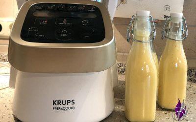 Sponsored Post Selbstgemachter Eierlikör – schnell und einfach im Prep&Cook von Krups