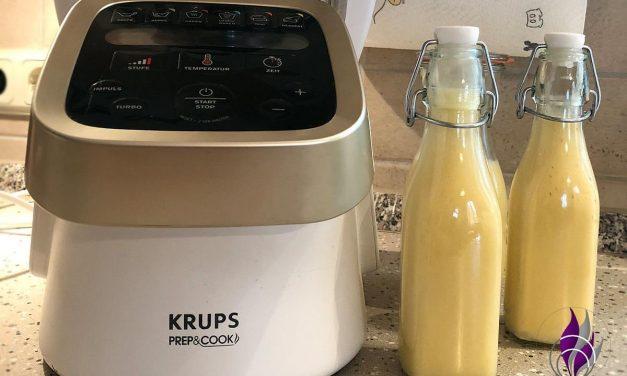 Selbstgemachter Eierlikör – schnell und einfach im Prep&Cook von Krups