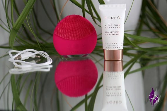 FOREO LUNA mini 2 Gesichtsbürste Micro Foam Cleanser