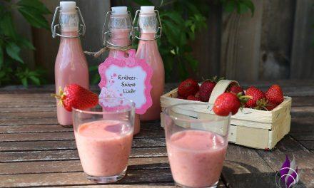 Erdbeer-Sahne-Likör im Prep&Cook von Krups zubereiten