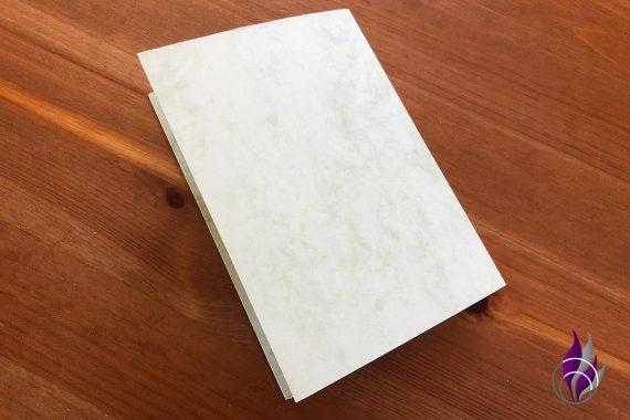Pop up Karte Einschulung Tonkarton falten