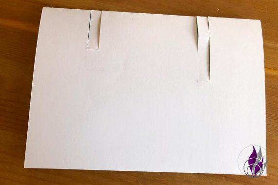 3D Karte Geburtstag Einschnitte Tonkarton