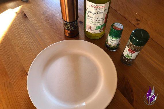 Olivenöl Kräuter Pfeffer