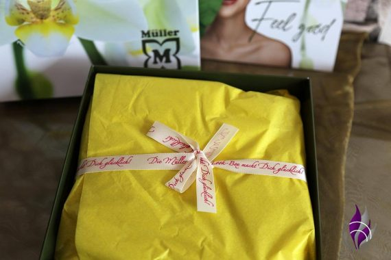 Müller Surprise Box Verpackung